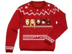 Create an 'ugly' Christmas sweater for Pentatonix