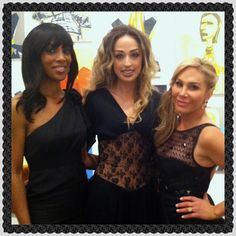 Shaun Robinson (Access Hollywood), Marina BerBeryan (Celebrity Fashion Stylist), & Adrienne Maloof (Beverly Hills Housewives).