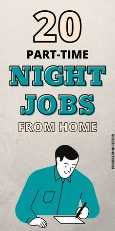 These part-time night jobs from home will help you earn some extra money from the comfort of your home. Legit evening jobs that pay well. #workfromhome #makemoneyonline #businessideas #sidehustles Earn More Money, Make Money Blogging, Make Money Online, Work From Home Moms, Make Money From Home, Way To Make Money, Online Income, Online Jobs, Home Based Business