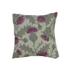 The delightfully detailed thistles on this scented pillow make this tapestry kit a wonderful addition to any living space!