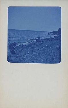 Untitled (postcard), n.d., Unidentified, cyanotype, 5 1/2 x 3 1/2 in. (14.0 x 8.9 cm), Smithsonian American Art Museum, Gift of Richard and Andrea Kremer
