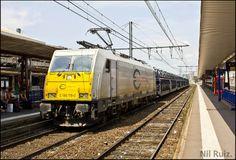 Euro Cargo Rail en gare de Toulouse.