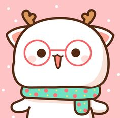 Cute Love Pictures, Cute Cartoon Pictures, Cute Kawaii Animals, Kawaii Cat, Chibi Cat, Cute Chibi, Kawaii Cute Wallpapers, Cute Anime Cat, Cute Bear Drawings