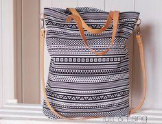 Umhängetaschen - Shopper ★ Canvastasche ★ Ethno - ein Designerstück von luett-und-Lang bei DaWanda