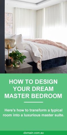 A true master bedroom needs plenty of storage, and a walk-in wardrobe is high on the must-have list. Dream Master Bedroom, Home Bedroom, Bedroom Decor, Bedroom Ideas, My New Room, My Room, Boudoir, Walk In Robe, Quartos