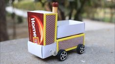 How to Make a Electric Toy Car Truck at Home - Matchbox Car - Mini Car