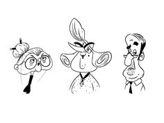 Character design for animation on Behance