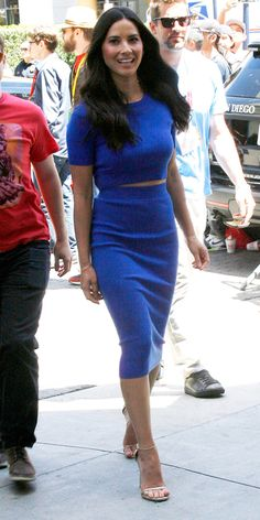2015 Comic-Con: The Best Red Carpet Looks - Olivia Munn from #InStyle