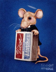 CHURCHMOUSE BY WILL BULLAS