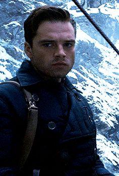 Bucky Barnes, Sebastian Stan, Marvel Characters, Marvel Movies, Steel Blue Eyes, Mcu Marvel, Supergirl And Flash, Man Thing Marvel, Winter Soldier