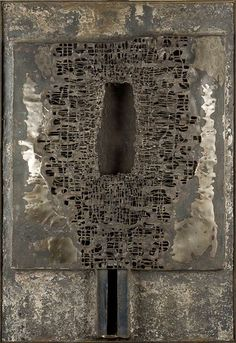 File:Untitled relief by Zdzislaw Beksinski, 1960, metal on MDF plate  ||  http://commons.wikimedia.org/wiki/File:Untitled_relief_by_Zdzislaw_Beksinski_1960.jpg  ||  http://beksinski.dmochowskigallery.net/galeria_karta.php?artist=37&picture=3165