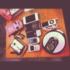 23 #photoadaymay: technology - a selection from the past few years