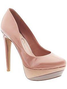 Jessica Simpson - Beijo - Pink & Blush Not-so-Basic Pump