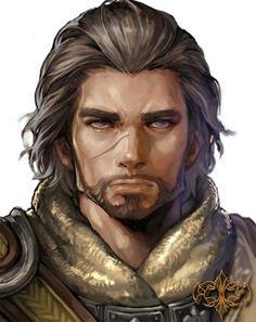 Human male ranger - pathfinder pfrpg dnd d&d fantasy Fantasy Characters, Fantasy, Character Portraits, Fantasy Art, Fantasy Character Design, Character Design Male, Fantasy Portraits, Portrait, Character Inspiration Male
