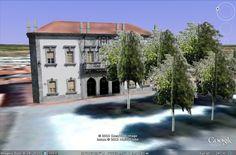 Modelação 3D da Câmara Municipal de Beja.  Pode encontrar este nosso trabalho na camada earth do google maps