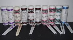 Unity and Memorial Candles www.wreathartist.etsy.com