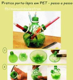 Crea hoy. Botellas pet