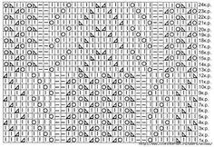 """Стильный узор """"Мишкины лапки"""" - запись пользователя МамаМарина (Марина Юрьевна) в сообществе Вязание спицами в категории Вязание для женщин спицами. Схемы вязания спицами"""