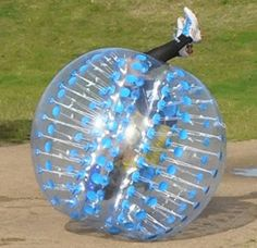 OPENBOX Holleyweb Blue Bubble Soccer Ball Dia 5 Human Inflatable Bumper for sale online Bubble Soccer, Soccer Ball, Black And Decker Toaster, Inflatable Bouncers, Promposal, Blue Bodies, Soccer Equipment, Different Games, Play Centre