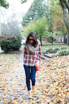 Here & Now | A Nashville Style Blog: casually plaid