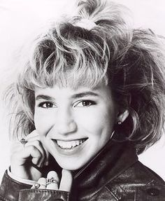 "Debbie Gibson. My idol back in the day. I remember coming home from preschooland rocking out to ""Red Hot"""