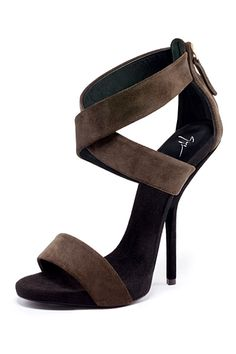 Giuseppe Zanotti Brown Sandals Shoes 2013 Spring-Summer