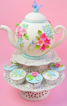 Tea time...how adorable.