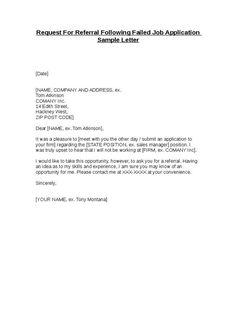 sample of cover letter for job application