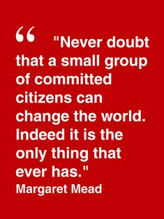 ... Inspirational Quotes Margaret Mead