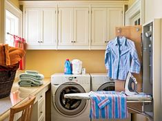 Storage Laundry Room Ideas