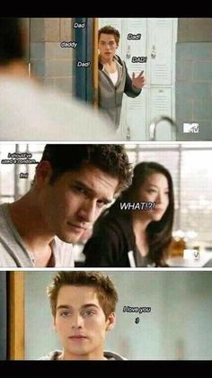 Teen Wolf moments Lim Dunbar and Scott McCall! Teen Wolf Memes, Teen Wolf Quotes, Teen Wolf Funny, Teen Wolf Scott, Teen Wolf Boys, Teen Wolf Dylan, Scott Mccall, Dylan O'brien, Meninos Teen Wolf