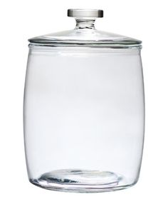 Classic and timeless, the 140 oz. Milk Street Glass Storage Jar provides both form and function to create a foundational look that works beautifully in any kitchen. The clear glass in this canister gives it a neutral appearance that lays a great deco Glass Storage Jars, Glass Canisters, Food Storage Containers, Jar Storage, Glass Jars, Clear Glass, Kitchen Canister Sets, Kitchen Sets, Kitchen Stuff