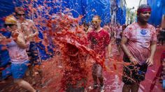 Tomatina, Ende August