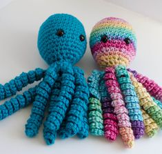 Crochet Octopus for a Preemie