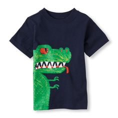 Glow-In-The-Dark dino monster graphic tee. The Children's Place 5$ Feb12 2015