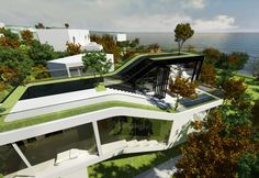 Futurist Jeju House in Korea