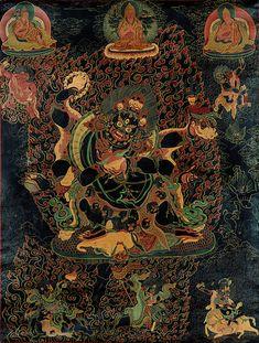 6 armed Mahakala – tantric protective deity