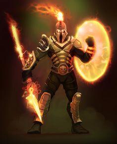 future tech Pantheon Pantheon League Of Legends, New Champ, Dream Symbols, Evil Empire, Dnd Monsters, Suit Of Armor, Fantasy Armor, Robot, Fantasy Characters