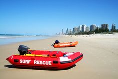 Surf Rescue Boats in Gold Coast - Main Beach Dental Maine, Gold Coast, Beautiful Homes, Dental, Boats, Surfing, Scenery, House Of Beauty, Ships