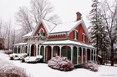 Hillary House Aurora. Circa 1860