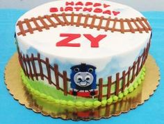 Thomas the Train Boy's Birthday Cake