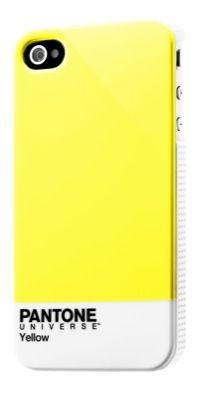 PANTONE IPHONE 4/4S COVER YELLOW