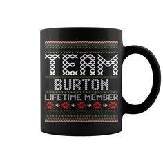Team Burton Lifetime Member Ugly Christmas Sweater mug