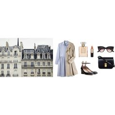 parlez-vous français? by mayblush on Polyvore featuring Charles Anastase, Opening Ceremony, Valentino, Mimco, CÉLINE, Chanel and Zara
