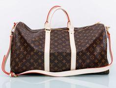 Дорожная универсальная сумка Louis Vuitton Monogram Keepall 50