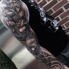 90 Deer Tattoos For Men