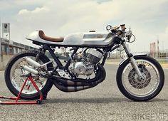 KAWASAKI H1 #caferacer by Valtoron #motorcycles #motos | caferacerpasion.com