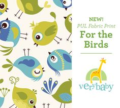 Win a Very Baby PUL Fabric. Pick from Over 50 Prints