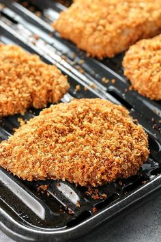 Best Ever Crispy Baked Breaded Pork Chops