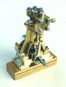 Single cylinder steam engine